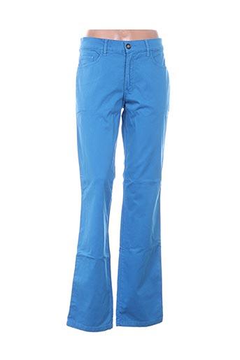 Pantalon casual bleu DANSAERT BLUE pour femme