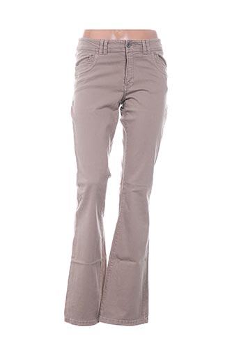 Pantalon casual marron D.T.C pour femme