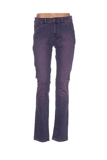 l'histoire de louise jeans femme de couleur violet