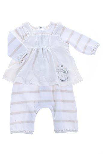 Combi-pantalon blanc ABSORBA pour garçon