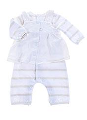 Combi-pantalon blanc ABSORBA pour garçon seconde vue
