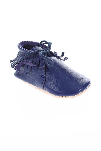 easy peasy chaussures enfant de couleur bleu