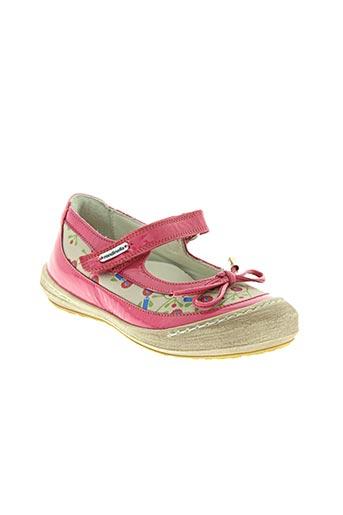 rondinella chaussures fille de couleur rose