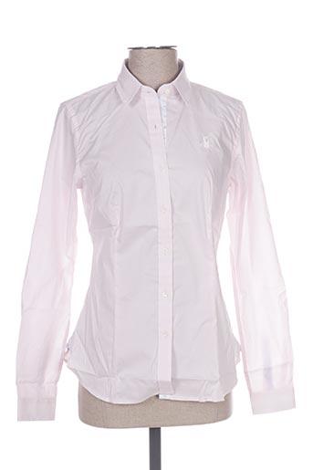 vestiaires principaute cannoise chemises femme de couleur rose