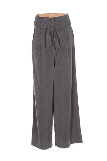 Pantalon chic gris ARTIGLI pour femme