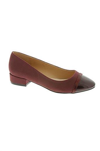 mariamare chaussures femme de couleur rouge