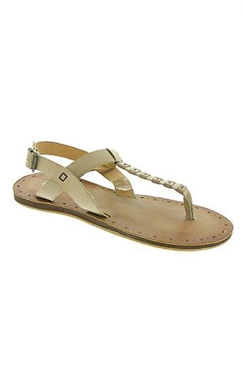novocento chaussures femme de couleur beige