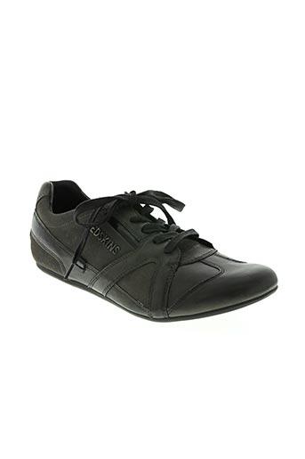 redskins chaussures homme de couleur gris