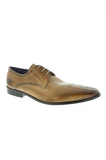 melvin & hamilton chaussures homme de couleur beige