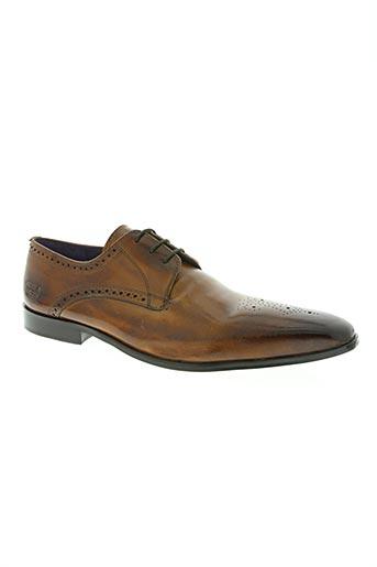 melvin & hamilton chaussures homme de couleur marron