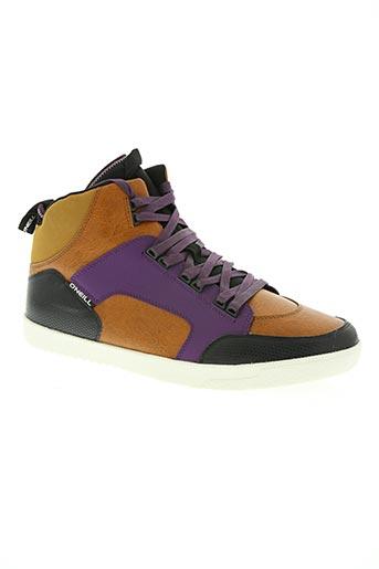 o'neill chaussures homme de couleur marron