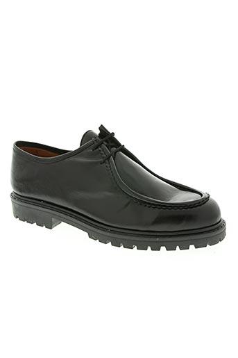 hidalgo chaussures homme de couleur noir