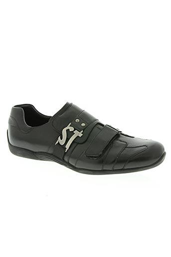 s.tens chaussures homme de couleur noir