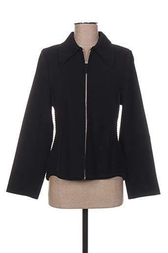 jacqueline coq vestes femme de couleur noir