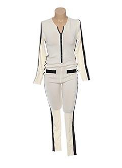 Combi-pantalon beige JACQUELINE COQ pour femme