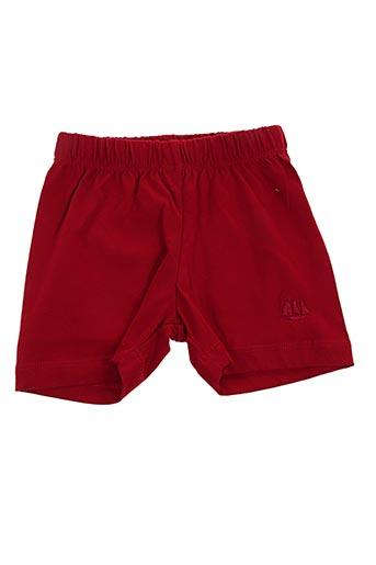 Bermuda rouge HUBLOT pour garçon