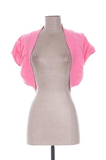 gossip vestes femme de couleur rose