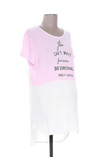 eylex t-shirts femme de couleur rose