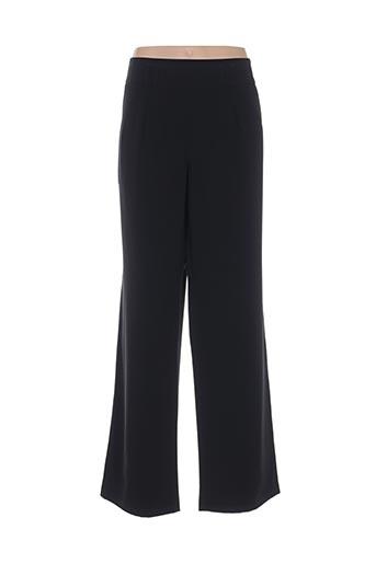 lorenzo ferreri pantalons femme de couleur noir