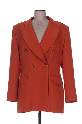 extenzo paris vestes femme de couleur orange