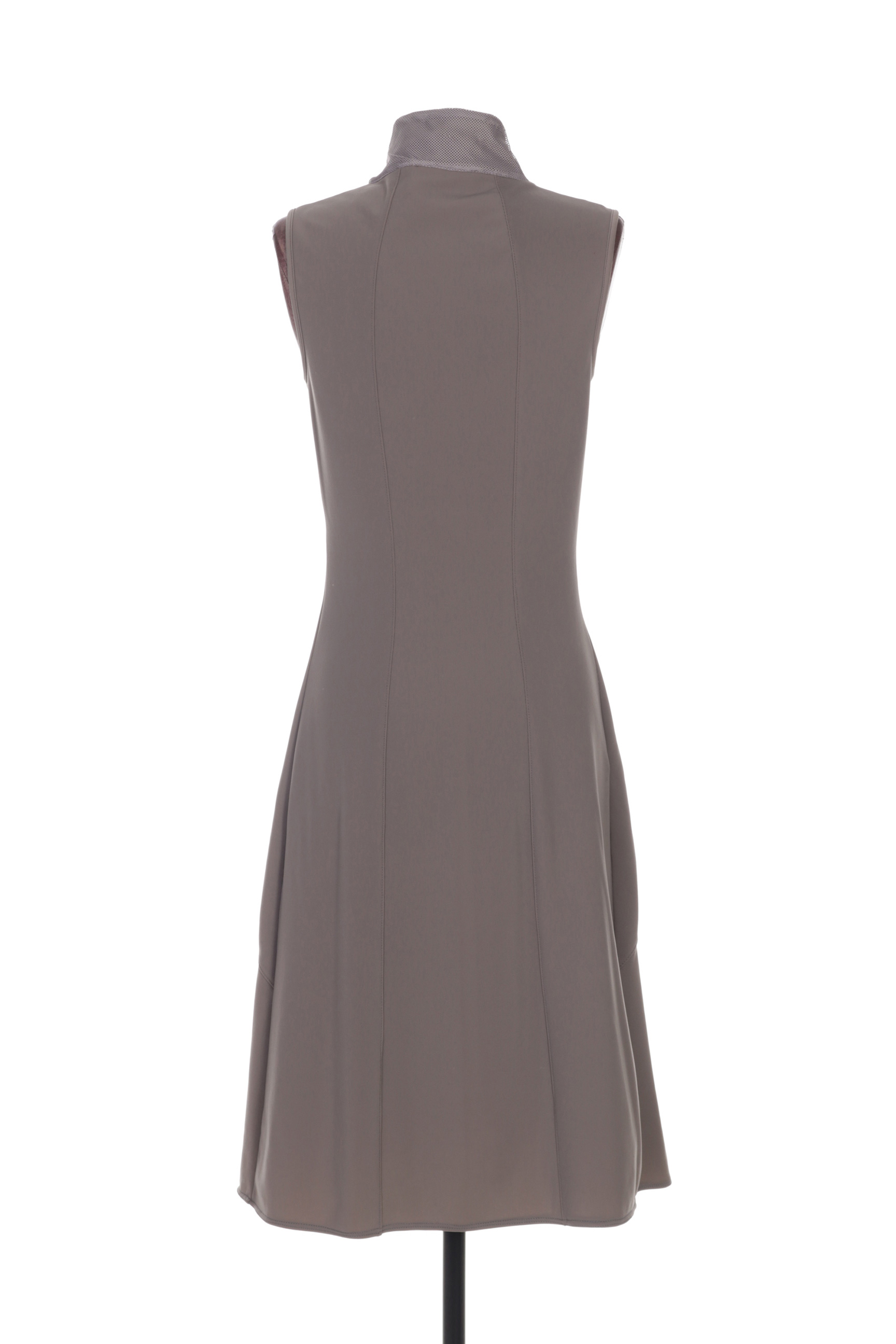 Motys Collection Robes Mi Longues Femme De Couleur Gris En Soldes Pas Cher 1266041-gris00