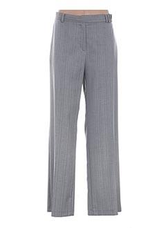 Pantalon chic gris GLORIA RG pour femme