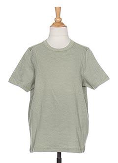 T-shirt manches courtes vert LMTD pour garçon
