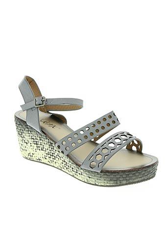 raxmax chaussures femme de couleur gris