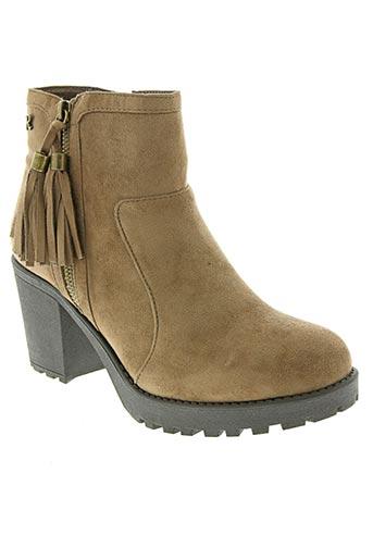 refresh chaussures femme de couleur marron