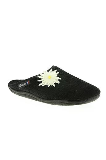 airplum chaussures femme de couleur noir
