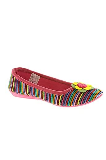 elue par nous chaussures femme de couleur rose