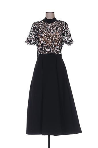 Robe longue noir SELF-PORTRAIT pour femme