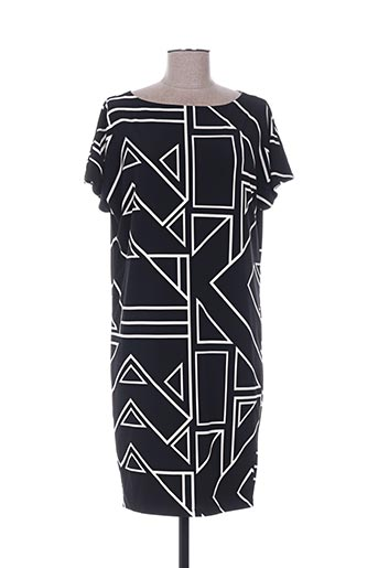 Robe mi-longue noir RALPH LAUREN pour femme
