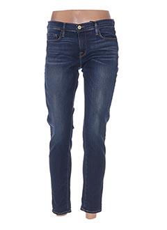 Jeans skinny bleu FRAME pour femme