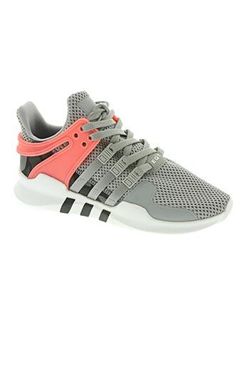 adidas chaussures garçon de couleur gris