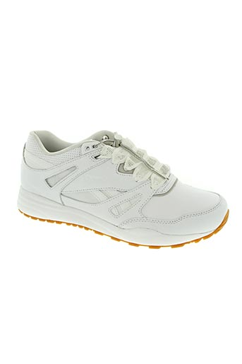 reebok chaussures homme de couleur blanc
