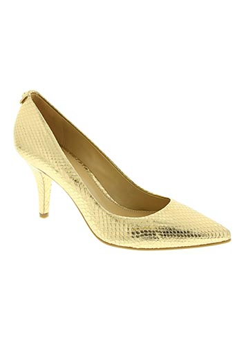 michael kors chaussures femme de couleur jaune