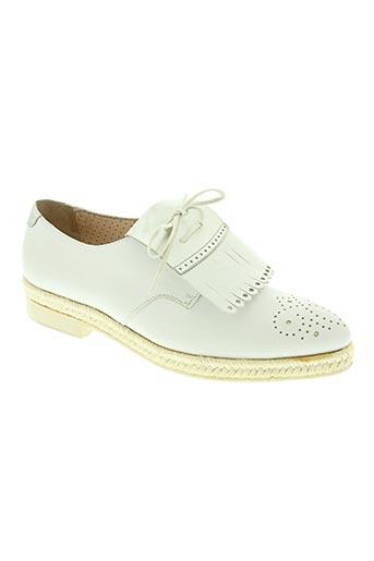 pertini chaussures femme de couleur blanc