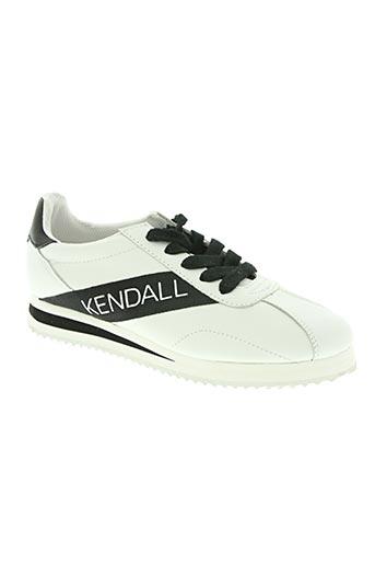 kendall + kylie chaussures femme de couleur blanc