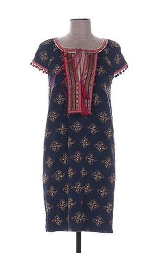 Robe courte bleu DEBY DEBO pour femme