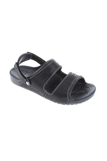 crocs chaussures homme de couleur gris