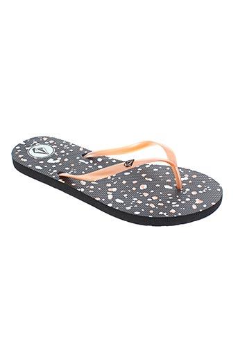 volcom chaussures femme de couleur orange