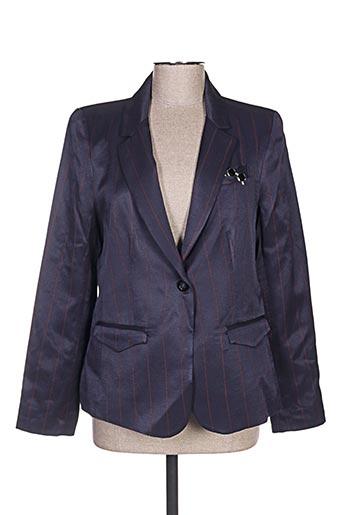 Veste chic / Blazer bleu VOODOO pour femme