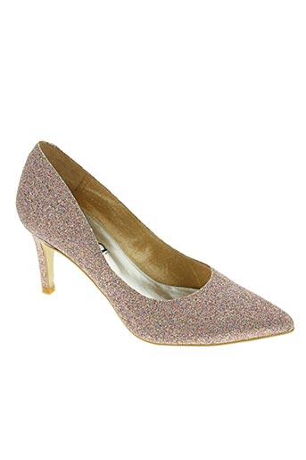 myma chaussures femme de couleur rose