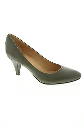 ballerina chaussures femme de couleur vert