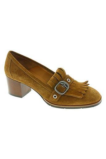 malu chaussures femme de couleur marron