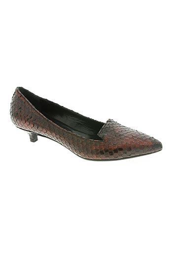 malu chaussures femme de couleur rouge