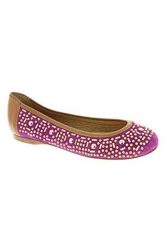 zinda chaussures femme de couleur violet