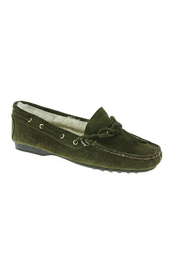 bertone chaussures femme de couleur vert