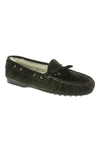 bertone chaussures femme de couleur marron